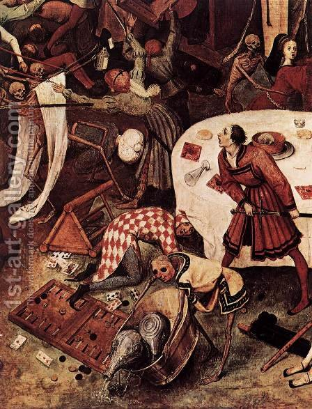 The Triumph of Death (detail) 1562 2 by Jan The Elder Brueghel - Reproduction Oil Painting