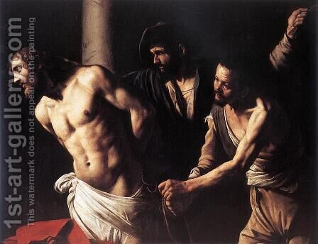 Christ at the Column by Caravaggio - Reproduction Oil Painting
