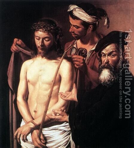 Ecce Homo 2 by Caravaggio - Reproduction Oil Painting