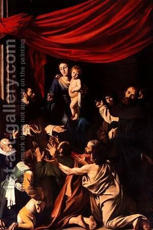 Madonna by Caravaggio - Reproduction Oil Painting