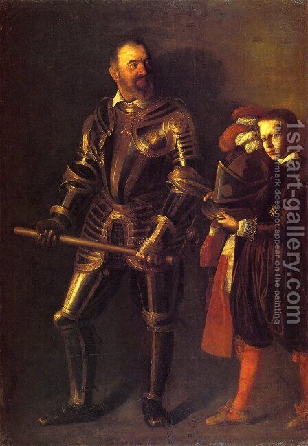 Portrait of Alof de Wignacourt1 by Caravaggio - Reproduction Oil Painting