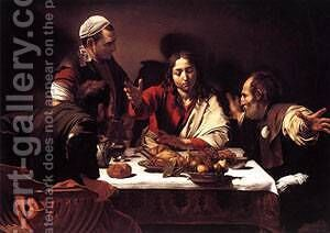 Supper at Emmaus1 by Caravaggio - Reproduction Oil Painting