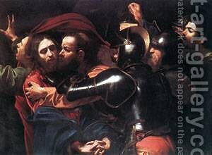 Taking of Christ by Caravaggio - Reproduction Oil Painting