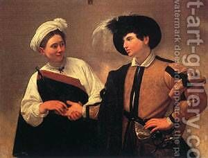 The Fortune Teller1 by Caravaggio - Reproduction Oil Painting