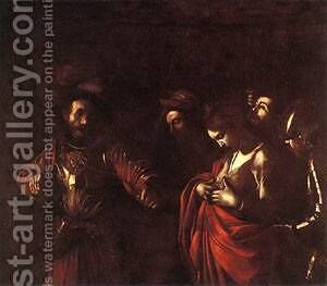 The Martyrdom of St Ursula by Caravaggio - Reproduction Oil Painting