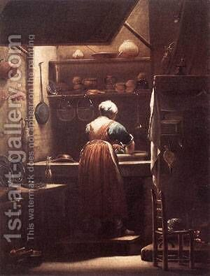 The Scullery Maid by Giovanni Battista Crespi (Cerano II) - Reproduction Oil Painting