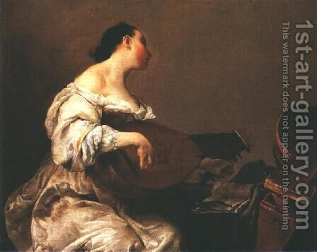 The Scullery Maid 1710 1715 by Giuseppe Maria Crespi - Reproduction Oil Painting