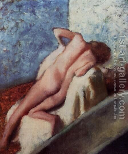 After the Bath 2 1896 by Edgar Degas - Reproduction Oil Painting