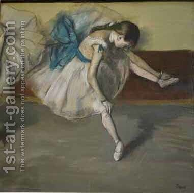 Danseuse au repos by Edgar Degas - Reproduction Oil Painting