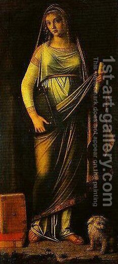 Sibyl by Benedetto Diana - Reproduction Oil Painting
