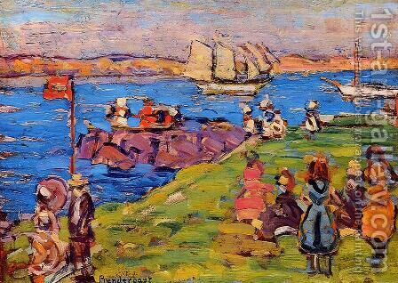 Harbor, Afternoon 1903-1906 by Toulouse-Lautrec - Reproduction Oil Painting