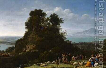 The Sermon on the Mount 1656 by Claude Lorrain (Gellee) - Reproduction Oil Painting