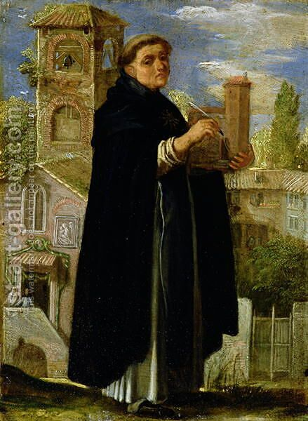 St Thomas Aquinas by Adam Elsheimer - Reproduction Oil Painting