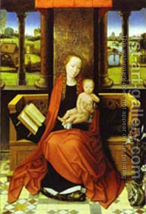 Madonna And Child 1487 by Hans Memling - Reproduction Oil Painting