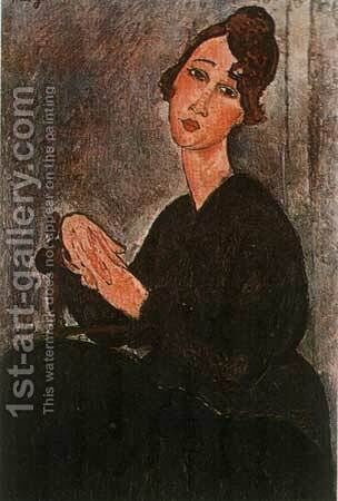 Madam Hayden by Amedeo Modigliani - Reproduction Oil Painting