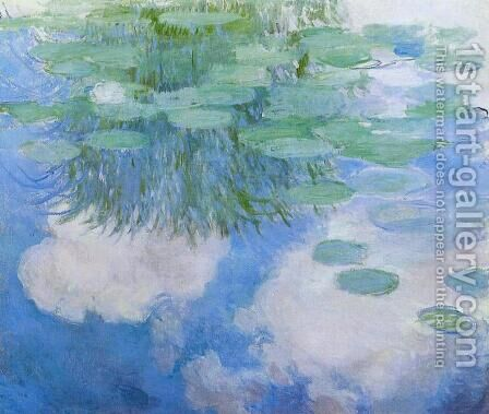 Water-Lilies6 1914 by Claude Oscar Monet - Reproduction Oil Painting