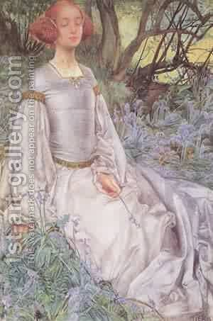In The Spring Time 1901 by Denes Rudolf Diener - Reproduction Oil Painting