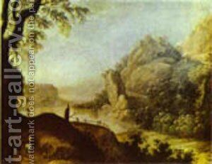 Landscape 2 by Bartolome Esteban Murillo - Reproduction Oil Painting