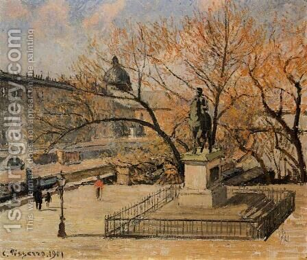 The Pont-Neuf2  1901 by Camille Pissarro - Reproduction Oil Painting