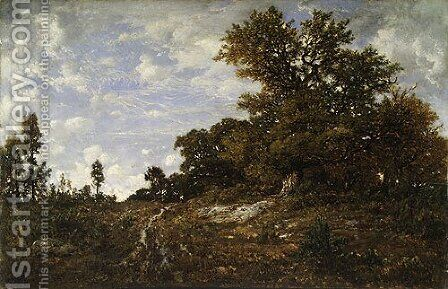 The Edge of the Woods at Monts Girard 1854 by Allan Ramsay - Reproduction Oil Painting