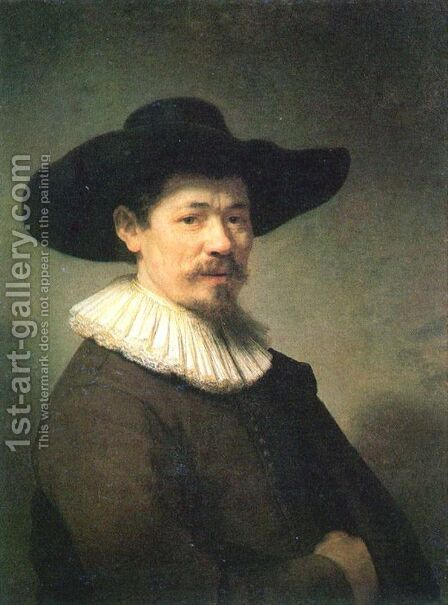 Herman Doomer 1640 by Harmenszoon van Rijn Rembrandt - Reproduction Oil Painting