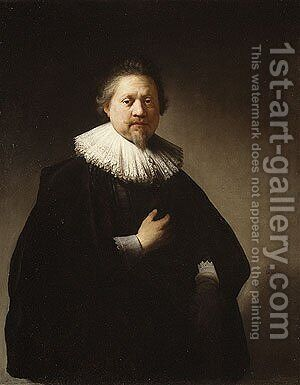 Portrait of a Man 1632 2 by Harmenszoon van Rijn Rembrandt - Reproduction Oil Painting