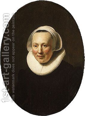Portrait of a Woman 1633 by Harmenszoon van Rijn Rembrandt - Reproduction Oil Painting