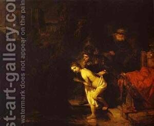 Susanna Surprised By The Elders 1647 by Harmenszoon van Rijn Rembrandt - Reproduction Oil Painting