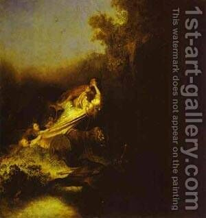 The Abduction Of Proserpine 1631 by Harmenszoon van Rijn Rembrandt - Reproduction Oil Painting