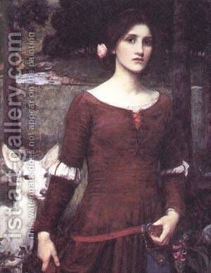 The Lady Clare by Alexei Alexeivich Harlamoff - Reproduction Oil Painting
