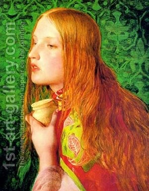 Sandys5 by Anthony Frederick Sandys - Reproduction Oil Painting
