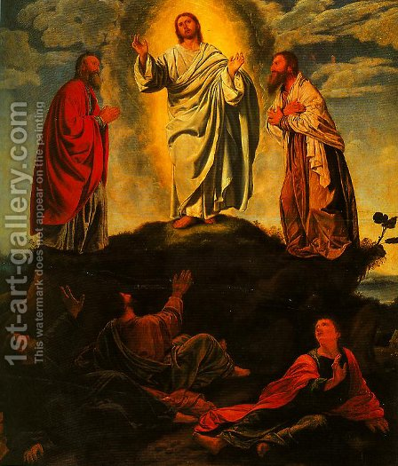 The Transfiguration by Giovanni Girolamo Savoldo - Reproduction Oil Painting
