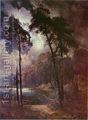 Summer Night 1883 by Alexei Kondratyevich Savrasov - Reproduction Oil Painting