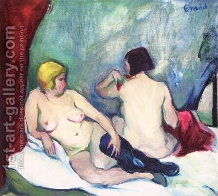 Nudes by Attila Sassy - Reproduction Oil Painting