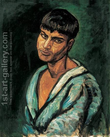 Gypsy Boy 1910 by Bela Onodi - Reproduction Oil Painting