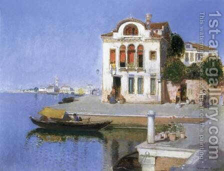 Torcello by Herrer Cesar - Reproduction Oil Painting