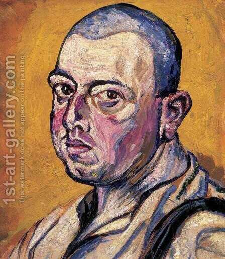 Self-portrait by Gyula Batthyany - Reproduction Oil Painting