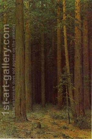 Forest Reserve Pine Grove 1881 by Ivan Shishkin - Reproduction Oil Painting