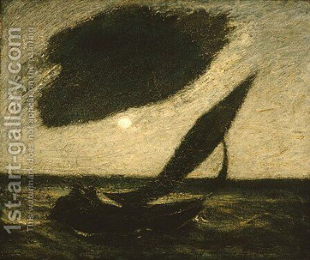 Under a Cloud 1900 by Albert Pinkham Ryder - Reproduction Oil Painting