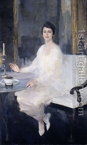 Ernesta 1914 by Beaux Cecilia - Reproduction Oil Painting