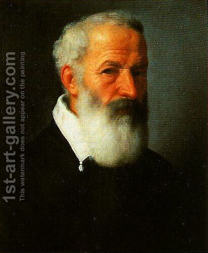 Portrait of an Old Man 2 by Giovanni Battista Moroni - Reproduction Oil Painting