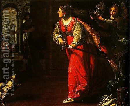 Semiramis by Matteo Rosselli - Reproduction Oil Painting
