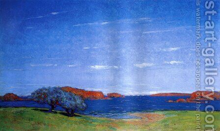A Bright Sky with a Breeze 1910 by Arthur Wesley Dow - Reproduction Oil Painting