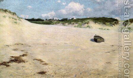 Les Sables de Raguenes 1888 by Arthur Wesley Dow - Reproduction Oil Painting