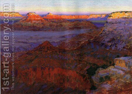 The Grand Canyon 1911 1912 by Arthur Wesley Dow - Reproduction Oil Painting