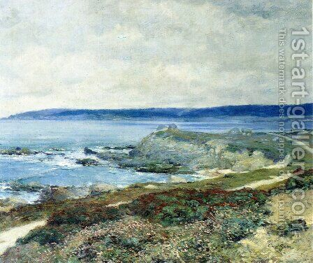 A Grey Day Carmel by Guy Rose - Reproduction Oil Painting