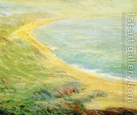 Bluff at Pourville by Guy Rose - Reproduction Oil Painting