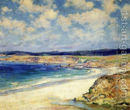 Carmel Beach by Guy Rose - Reproduction Oil Painting