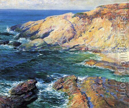 Incoming Tide 1917 by Guy Rose - Reproduction Oil Painting
