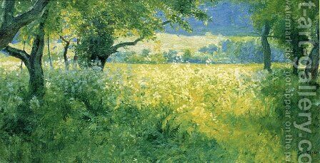 July Afternoon1 by Guy Rose - Reproduction Oil Painting